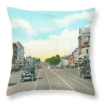 Newburgh Broadway - 05 Throw Pillow