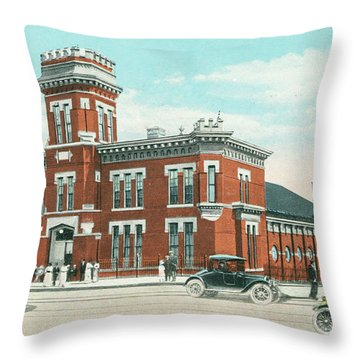 Newburgh Broadway - 06 Throw Pillow