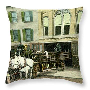 Newburgh Broadway - 07 Throw Pillow