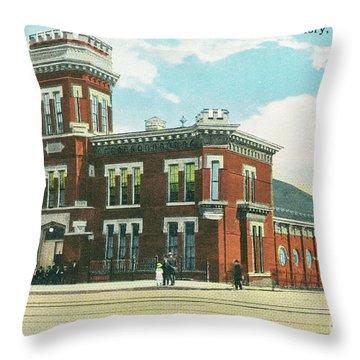 Newburgh Broadway - 08 Throw Pillow