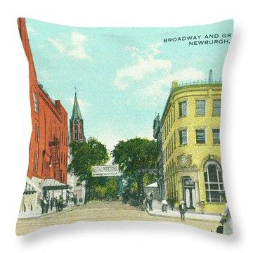 Newburgh Broadway - 10 Throw Pillow