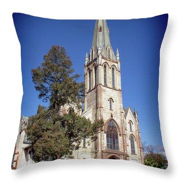 Newburgh First United Methodist Church Throw Pillow