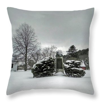 Newbury Lower Green Throw Pillow