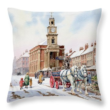 Newcastle Staffordshire Throw Pillow
