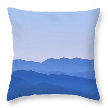 Newfound Throw Pillow