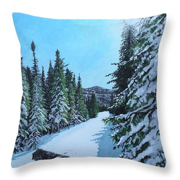 Newfoundland In Labrador II Throw Pillow