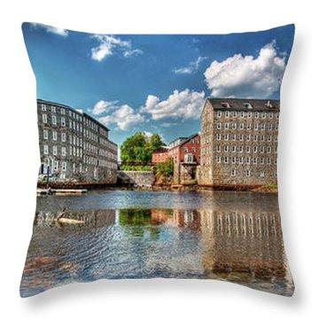 Newmarket Mills Throw Pillow