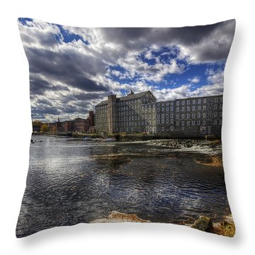Newmarket Nh Throw Pillow by Eric Gendron