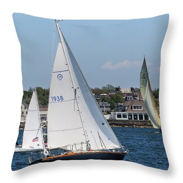 Newport Rhode Island Throw Pillow