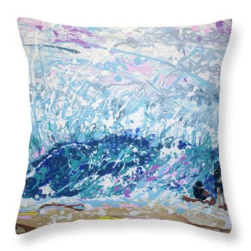 Newport Wedge Throw Pillow