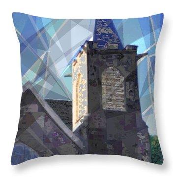 Newtown Steeple Throw Pillow