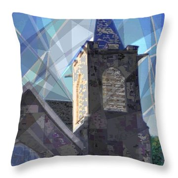 Newtown Steeple Throw Pillow