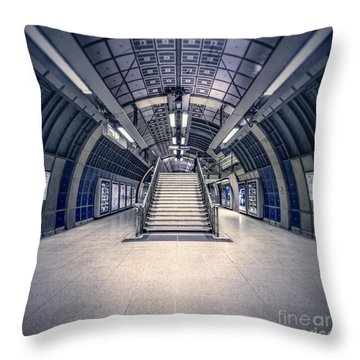 Next Flight Up Throw Pillow