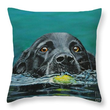 Next Time You Fetch It  Throw Pillow