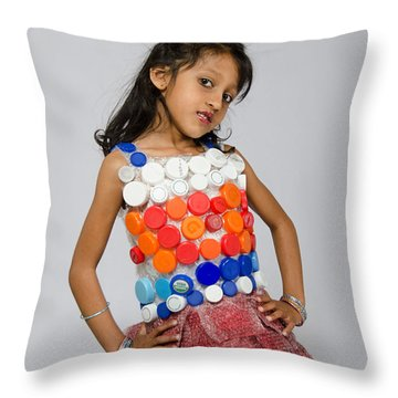 Neytra In Little Chic Throw Pillow