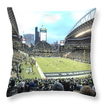 Nfc West Championship Throw Pillow