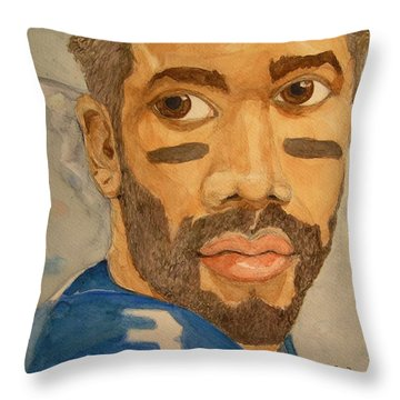 New School Football Seattle Throw Pillow