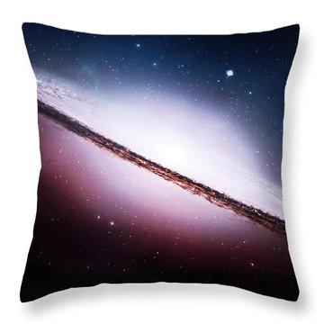 Ngc 2035 Magellanic Cloud Galaxy Throw Pillow