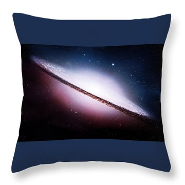 Ngc 2035 Magellanic Cloud Galaxy Throw Pillow