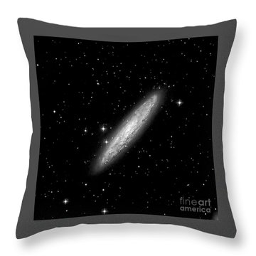 Ngc253 The Sculptor Galaxy Throw Pillow