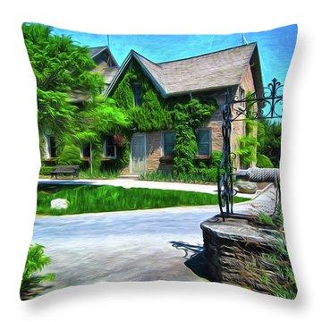Niagara Falls Botanical Garden Y1 Throw Pillow