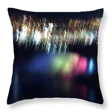 Light Paintings - Ascension Throw Pillow