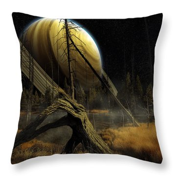 Nibiru Throw Pillow