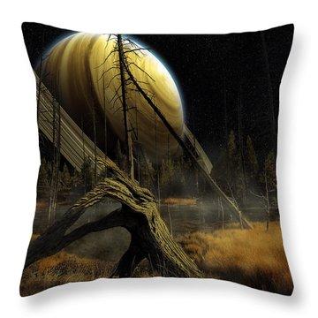 Nibiru Throw Pillow by Mark T Allen