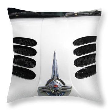 Throw Pillow featuring the photograph Nice Grills by Stephen Mitchell