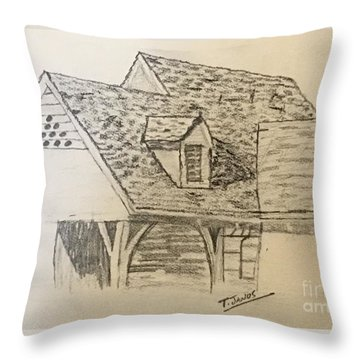 Nice Lines Throw Pillow