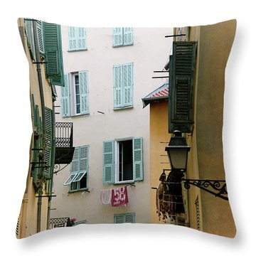 Throw Pillow featuring the photograph Nice Pastel by Rasma Bertz