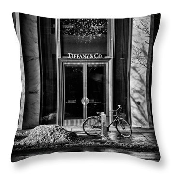 Nice Place To Have Breakfast Throw Pillow