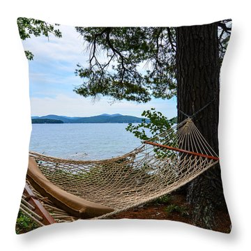 Nice Spot For A Nap Throw Pillow