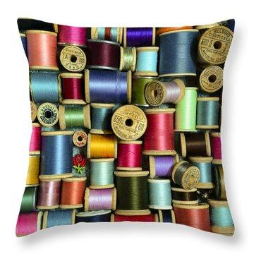 Nice Threads Throw Pillow