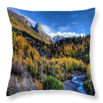 Nicholai Butte 2017 Throw Pillow