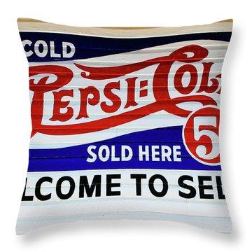 Nickel Soda Throw Pillow