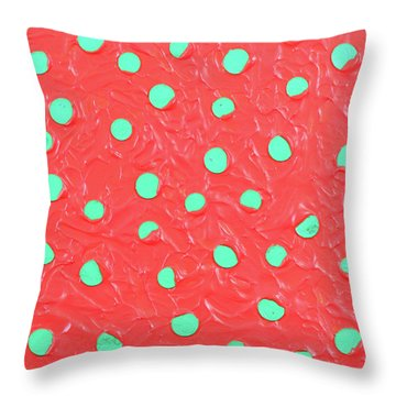 Nickels And Dimes Throw Pillow