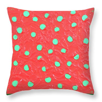 Nickels And Dimes Throw Pillow by Thomas Blood