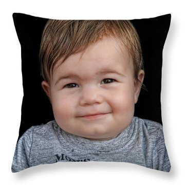 Nicolas - No H Throw Pillow