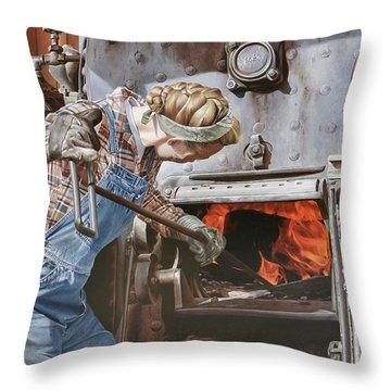 Iron Throw Pillows