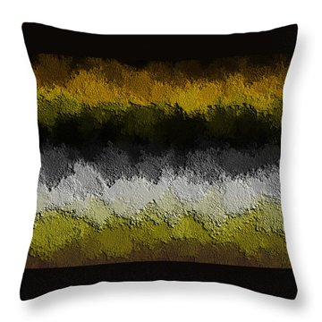 Throw Pillow featuring the digital art Nidanaax-flat by Jeff Iverson