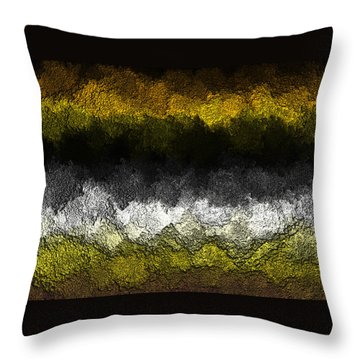 Throw Pillow featuring the digital art Nidanaax-glossy by Jeff Iverson