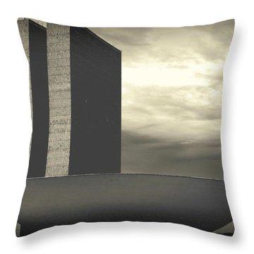 Niemayer Throw Pillow