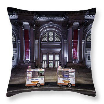 Night At A Museum Throw Pillow