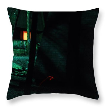 Traveling Aura Throw Pillow