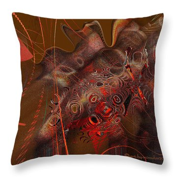 Night Eyes Throw Pillow by Mimulux patricia no No