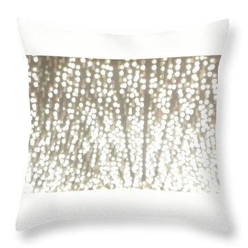 Night Full Of Bling Throw Pillow