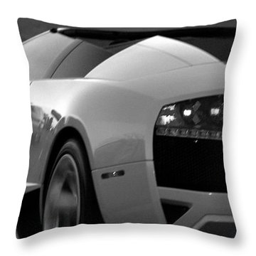 Night Hawk Throw Pillow