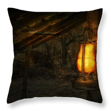 Night Is Falling Throw Pillow