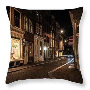 Night Throw Pillow